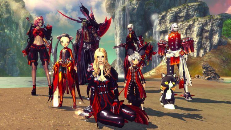 Blade and Soul - die Rassen im Screenshot