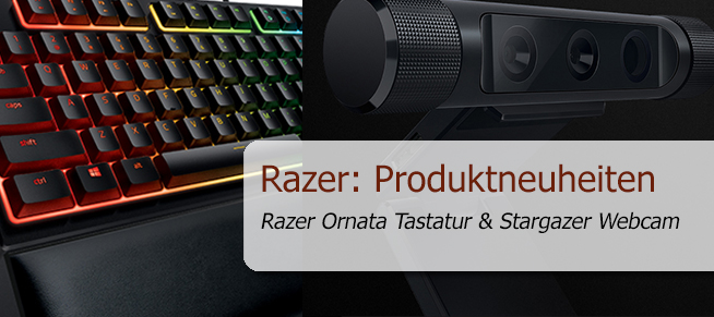 IFA 2016 – Razer: erste Tastatur mit Mecha-Membrane-Technologie