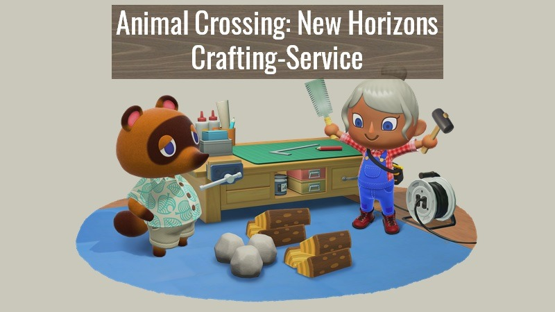 Crafting Service Animal Crossing New Horizons Newseule