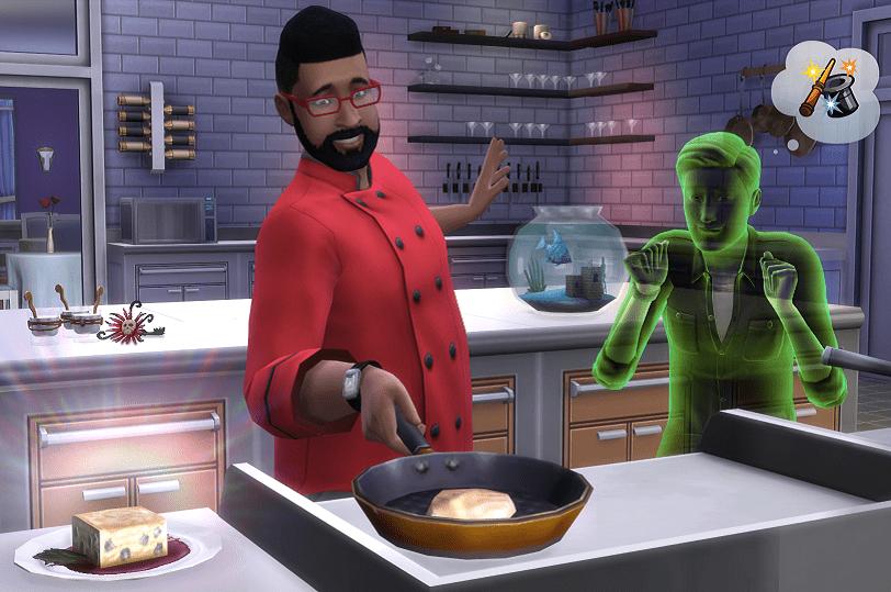 Screenshot aus dem Spiel Die Sims 4